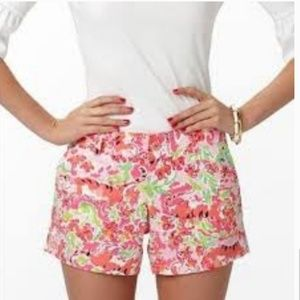 Lilly Pulitzer Call Me Kitty Shorts